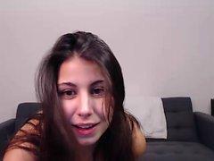 Latin girl with Angry Nipples