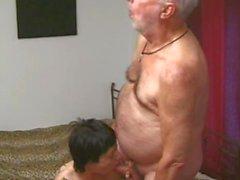 She loves old men 5,cut 2 (#grandpa #old man #dad)