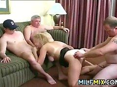 Horny Mature People Having Sex