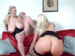 Mature housewives seduce young daughters