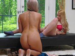 Bubble Butt 21 Year Old Seduced Во время Audition