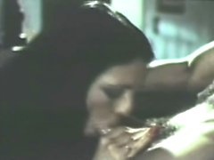 stunnigly hot retro blowjob