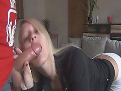 Smutty German Blond Requires To Obtain Drilled