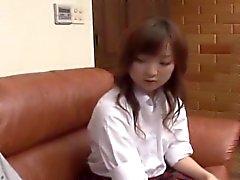 MVHN do subtulo entediados estudante japonesa que a excitada boyfrien