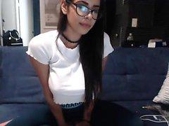 amatör bamagirl40 blinkande bröst på live webbkamera