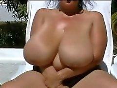 Huge - göğüsler açık havada BBW - Nine