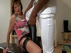 British MILF Blows A BBC