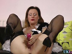 Stockings brit maid toy