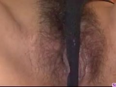 Tight Airi Ai enjoys two cocks for her wet pussy