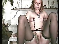 young german sweetie tortured at home