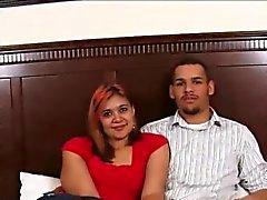Amateur Paar Macht Ein Schmutziges Heimvideo