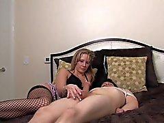 mistress enjoying her slave
