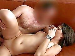 Cute amateur Cindy sex during casting