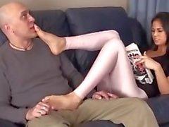 feet femdom worship