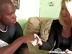 MILF interviews young black thug for his scholarship