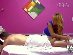 Big titted Asian masseuse Baylee Lee