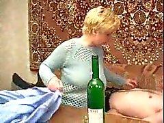 Russian mature slut Lana fucked again