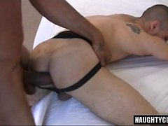 Big Dick Gay Interracial mit Cumshot