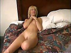 Hot milf fucks a small cock