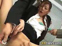 Japanese Worker Blows Her Boss