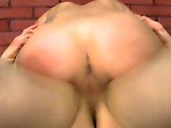 Latina Amateur Girl Roughly Riding With Dick Up Her Ass