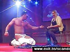 De Sensational Sopre Public Emprego das stripper