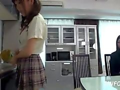 Asian Schoolgirl Makes Teacher Lesbian Pet Part 27