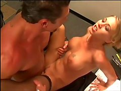 Boss lady fucked on her desk