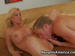 Amber Lynn finds her son's buddy Michael Vegas with rock