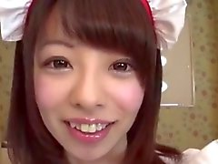 Cute maid creampie