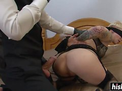 Miss Trixx craves for a fat cock