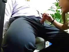 blowjob chef in-office