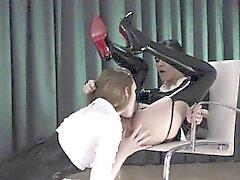 Super attractive strapon dildo erotic movie