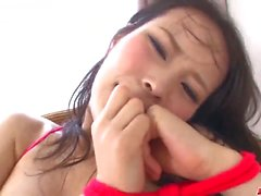 Kyouko Maki agita o pau em seu bichano premium de milf