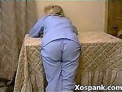 Perversa Niña En travieso Adolecente Spanking