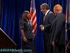 Cumbroleeza Rice Casa Blanca BJ con Dick y Bush en Spunk'd!