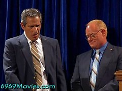 Cumdoleezza Райс Белый дом BJ с Диком и Бушем на Spunk'd!