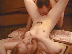 Amateur hot babe fucked by old guy