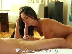 PureMature - Mature milf Nikki Daniels gets her aged pussy pounded