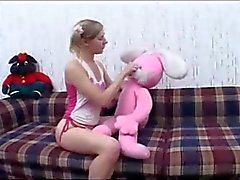 creampie för pigtailed flicka