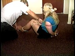 50 Yr OLD REAL ESTATE AGENT BALL-TIED AND TICKLED-Part 2
