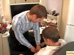 Kelan Carr having fun with his boss 1 part1
