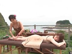 Hot Asian Massage Outdoor