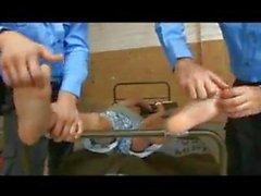 German boys feet tickling 1