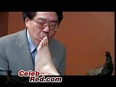 Japanese Boss Caught Abusing His Secretary