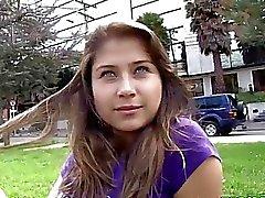 Oyeloca Busty hot latina Yulissa Camacho first tim