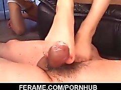 Femdom porn scenes along superb Yui Komine