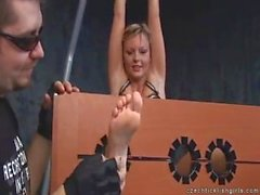 Czech Tickling Sandra