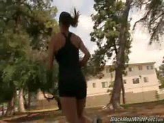 Interracial Pickups - Sexy babes fucked by big black cock 06