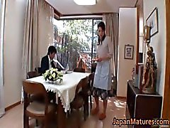 Nanas maturité japonaises Horny succion part4